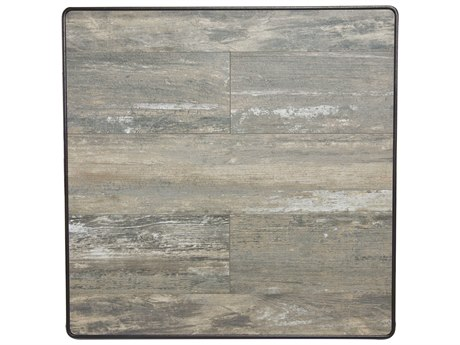 OW Lee Porcelain Reclaimed 24 x 24 Square Table Top