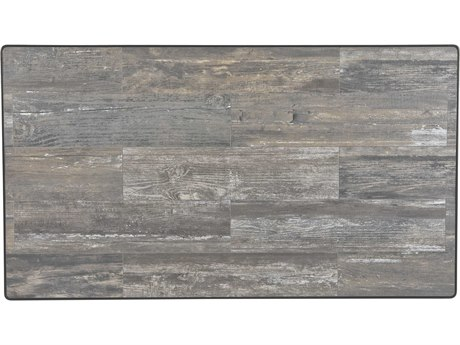 OW Lee Porcelain Reclaimed 50 x 28 Rectangular Table Top