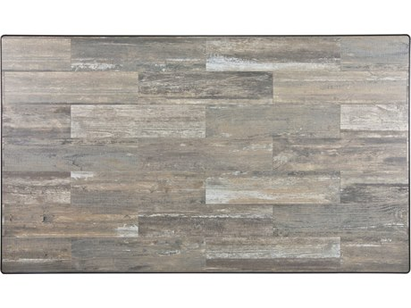 OW Lee Porcelain Reclaimed 72 x 42 Rectangular Table Top