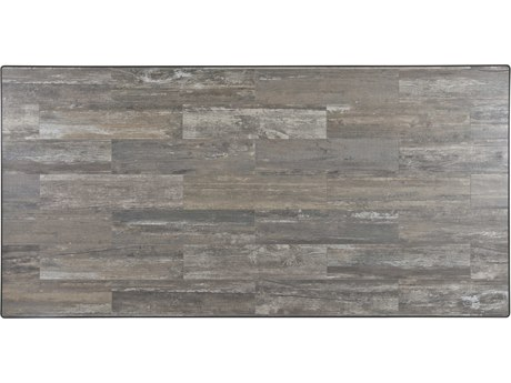 OW Lee Porcelain Reclaimed 84 x 42 Rectangular Table Top