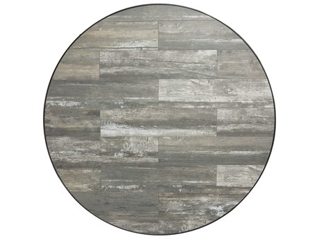 OW Lee Porcelain Reclaimed 48 x 1.5 Round Table Top OWW48