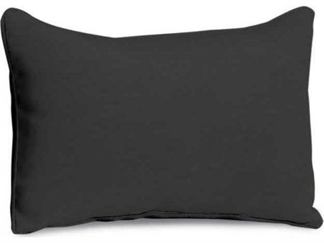 Oxford Garden Jet Black Replacement Lumbar Pillow
