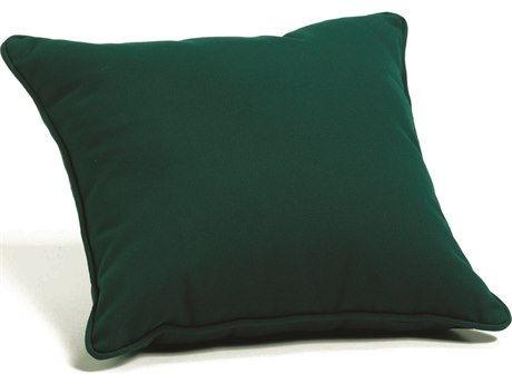 Oxford Garden Sunbrella Hunter Green Replacement Throw Pillow