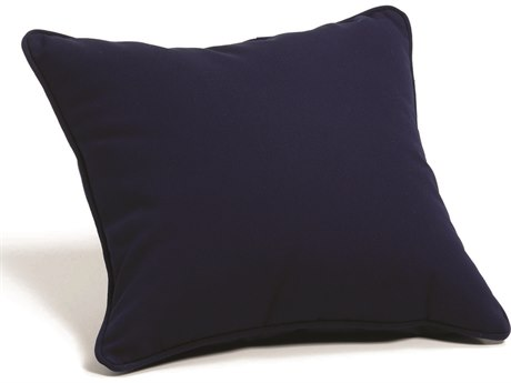 Oxford Garden Sunbrella Navy Blue Replacement Throw Pillow