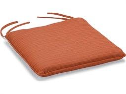 Sunbrella Dupione Papaya Wexford Side Chair Replacement Cushion