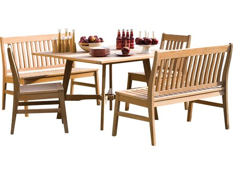 Oxford Garden Wexford Wood Dining Set