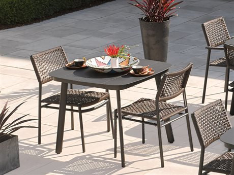 Oxford Garden Eiland Aluminum Dining Set
