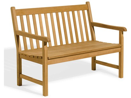 Oxford Garden Classic Natural Wood Bench