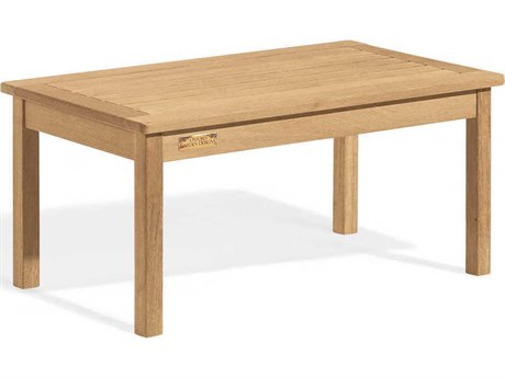 Oxford Garden Classic 35'' Wide Wood Rectangular Coffee Table