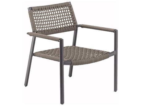 Oxford Garden Eiland Aluminum Strap Lounge Chair