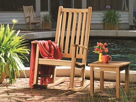 Oxford Garden Franklin Wood Cushion Lounge Set