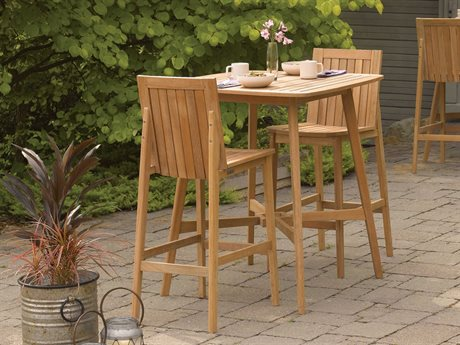 Oxford Garden Islay Wood Dining Set PatioLiving