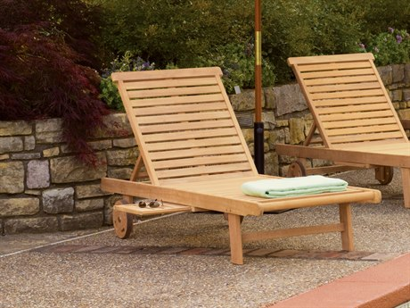 Oxford Garden Lounge Wood Chaise