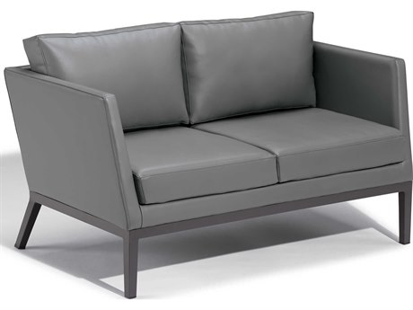 Oxford Garden Salino Aluminum Cushion Loveseat