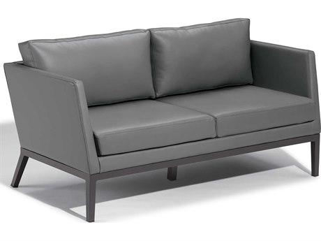 Oxford Garden Salino Aluminum Cushion Loveseat