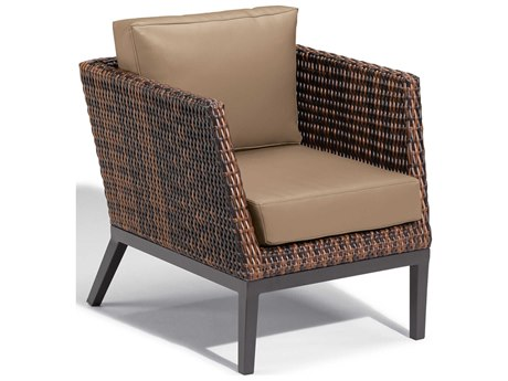 Oxford Garden Salino Aluminum Cushion Lounge Chair with Truffle Cushion