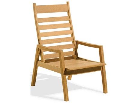 Oxford Garden Siena Wood Lounge Chair