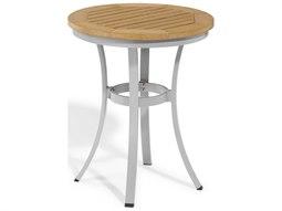 Travira 24'' Wide Aluminum Round Bistro Table