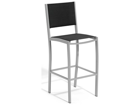 Oxford Garden Travira Aluminum Sling Bar Stool