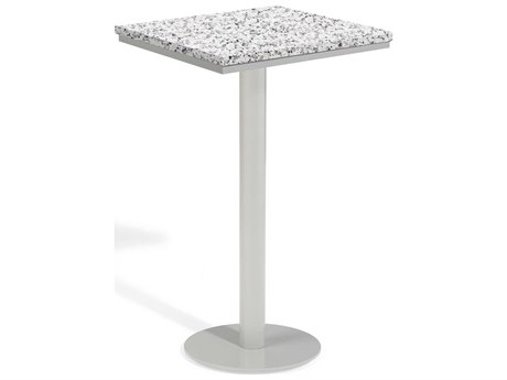 Oxford Garden Travira 24'' Wide Aluminum Square Bar Table