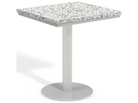Oxford Garden Travira Aluminum Square Bistro Table