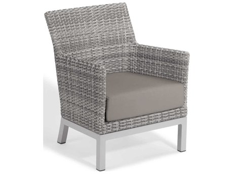 Oxford Garden Argento Aluminum Cushion Lounge Chair (Set of 2)