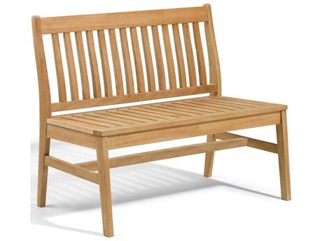 Oxford Garden Wexford Natural Wood Bench