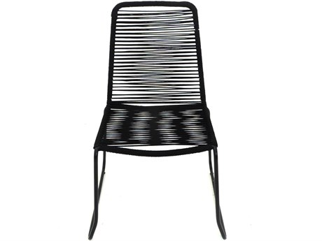 Patio Heaven Broad Stacking Rope Chair