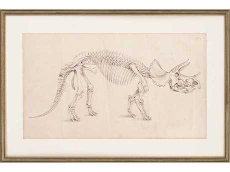 Paragon Harper Dinosaur Study II Giclee Painting