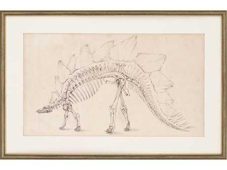Paragon Harper Dinosaur Study III Giclee Painting