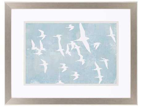 Paragon Goldberger Silhouettes In Flight II Giclee Painting