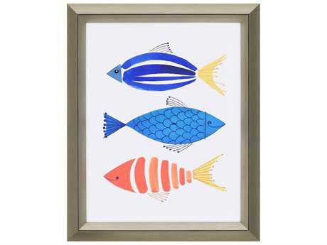 Paragon berg summer fish trio giclee painting pad1171 for Paragon fish oil