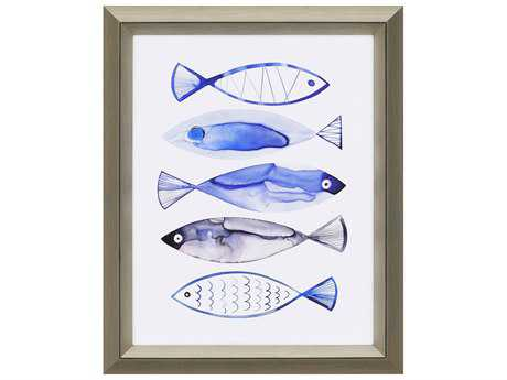 Paragon Berg Retro Watercolour Fish Giclee Painting