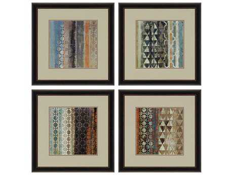 Paragon Wilson Tribal Moderne Painting (Four-Piece Set)