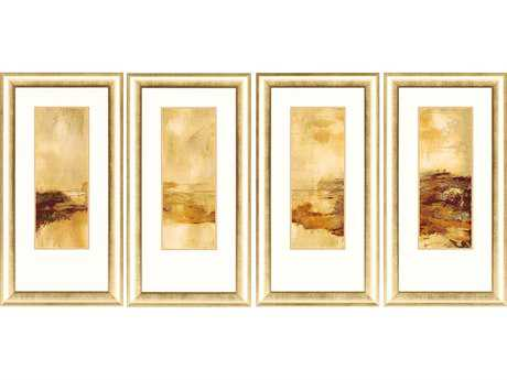 Paragon Joy Soul Of A Tree Giclee Painting (Four-Piece Set)