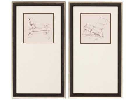 Paragon Harper Mid Century II Giclee Painting (Two-Piece Set)