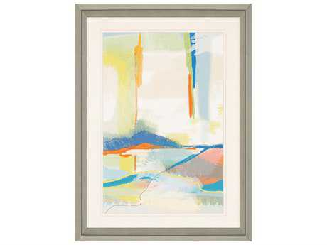 Paragon Weiss Deconstructed Landscape 4 Giclee Painting