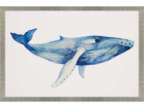 Paragon Popp Whale's Song II Giclee Painting