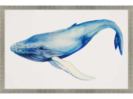 Paragon Popp Whale's Song I Giclee Painting