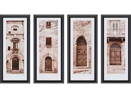 Paragon Blaustein La Porta Painting (Four-Piece Set)