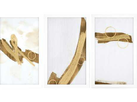 Paragon Jardine Set of 3 ''Gold Rush III'' Wall Art