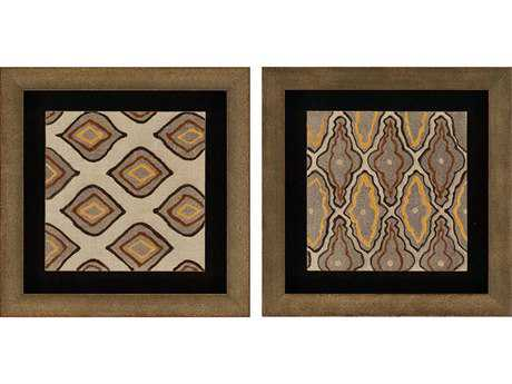 Paragon Kinder Harris Adamson-Ray Tribal I Painting (Two-Piece Set)
