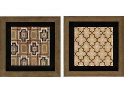 Paragon Kinder Harris Adamson-Ray Tribal II Painting (Two-Piece Set)