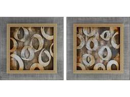 Paragon Kinder Harris Jardine Sonic Collage I Painting (Two-Piece Set)
