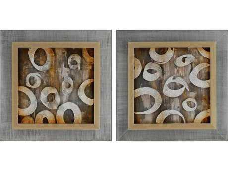 Paragon Kinder Harris Jardine Sonic Collage II Painting (Two-Piece Set)