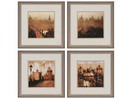 Paragon Sanchez Europa Exclusive Giclee Painting (Four-Piece Set)
