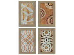 Paragon Kinder Harris Jardine Fragments I Painting (Four-Piece Set)