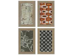 Paragon Kinder Harris Jardine Fragments III Painting (Four-Piece Set)