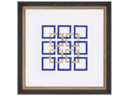 Paragon Kinder Harris Jardine Cobalt Maze II Painting