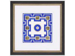 Paragon Kinder Harris Jardine Cobalt Maze III Painting
